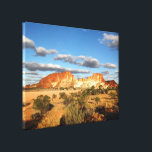 """Rainbow Valley canvas print<br><div class=""""desc"""">Early afternoon brings out the best of Rainbow Valley in Central Australia.</div>"""
