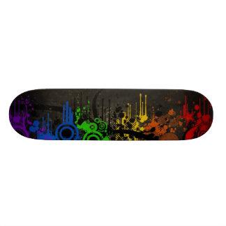 Rainbow Vector Skateboard Deck