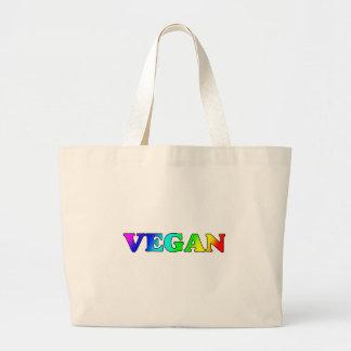 Rainbow Vegan Canvas Bags