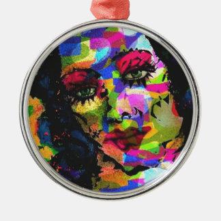 Rainbow Venus Metal Ornament