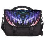Rainbow Vibrations Fractal Laptop Bag
