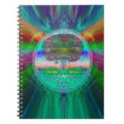 Rainbow Visions Tree of Life Spiral Notebook (<em>$13.70</em>)