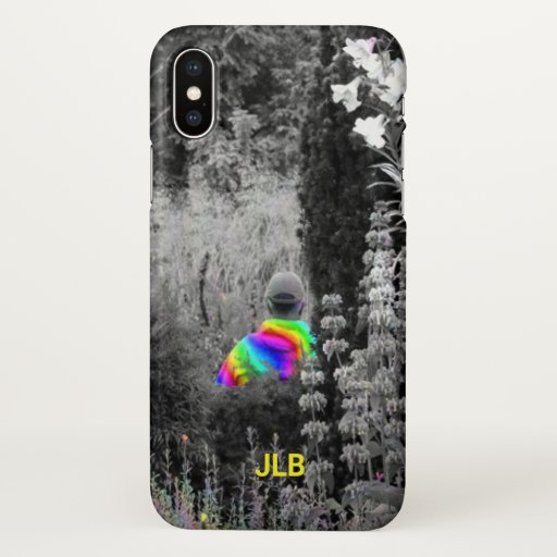 Rainbow Visitor Zazzle Phone Case