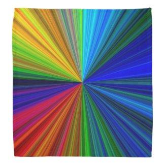 Rainbow Vortex Bandana