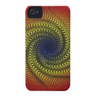 Rainbow Vortex Blackberry Case-Mate Case