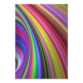 Rainbow vortex card