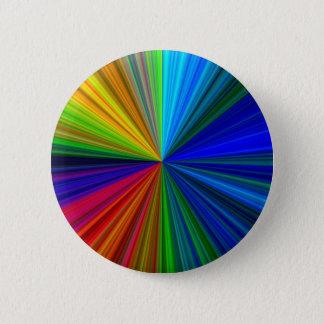 Rainbow Vortex Pinback Button