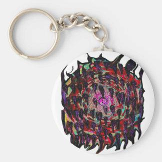 Rainbow Vortex to Hell Keychains