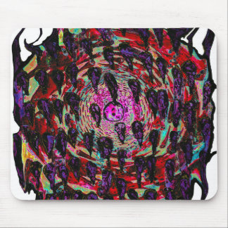 Rainbow Vortex to Hell Mousepads