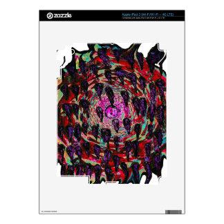 Rainbow Vortex to Hell iPad 3 Decal