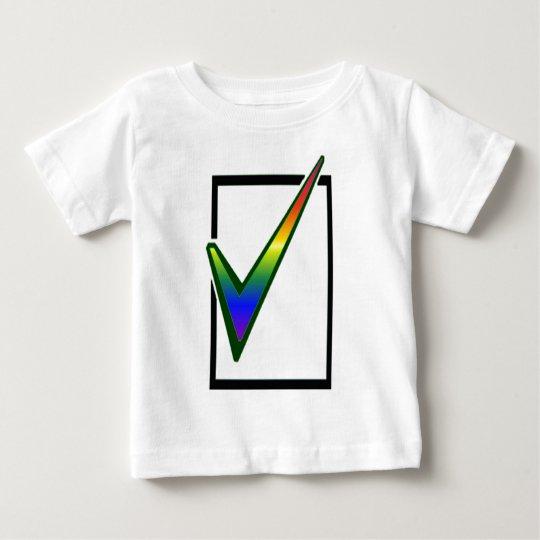 rainbow vote baby T-Shirt