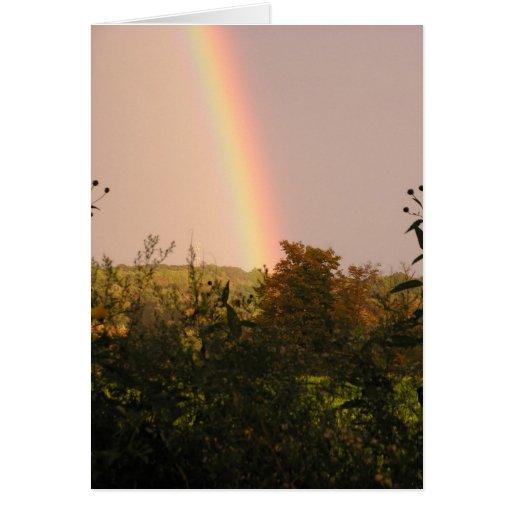 Rainbow Walk II Stationery Note Card
