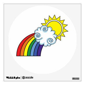 Rainbow Wall Decal - Rainbow Wall Sticker