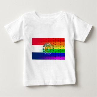 Rainbow Wall Missouri Baby T-Shirt