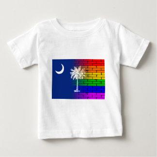 Rainbow Wall South Carolina Baby T-Shirt