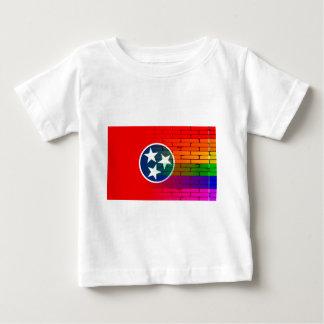 Rainbow Wall Tennessee Baby T-Shirt