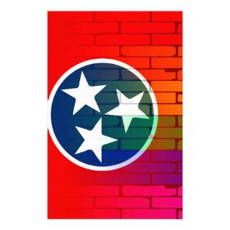 Rainbow Wall Tennessee Stationery