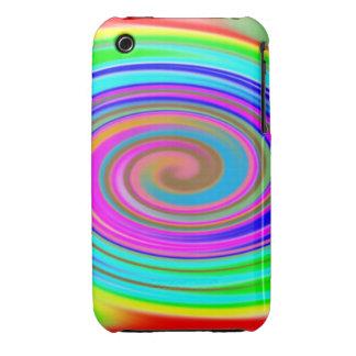 Rainbow Warp Case-Mate iPhone 3 Case