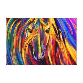 Rainbow Warrior Gallery Wrap Canvas
