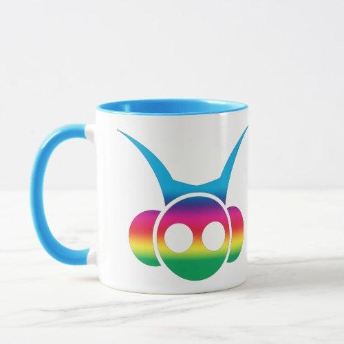 Rainbow Warrior Head Mug