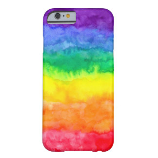 Rainbow Wash iPhone Case Barely There iPhone 6 Case