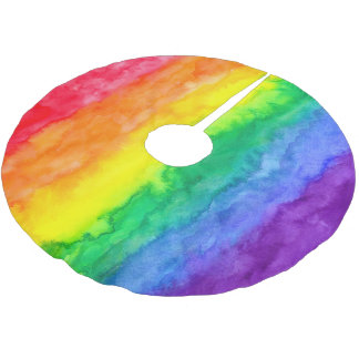 Rainbow Wash Tree Skirt
