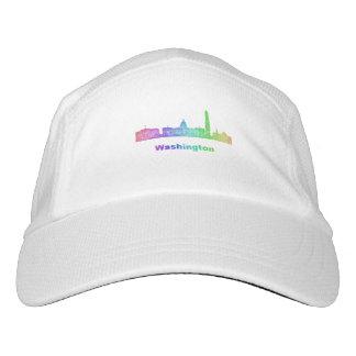 Rainbow Washington skyline Hat