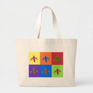 Rainbow Wasps Tote Bags
