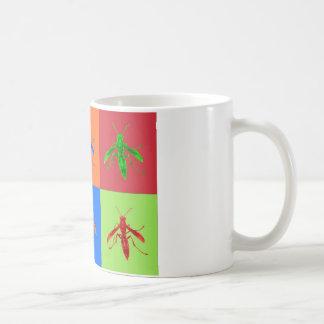 Rainbow Wasps Coffee Mug