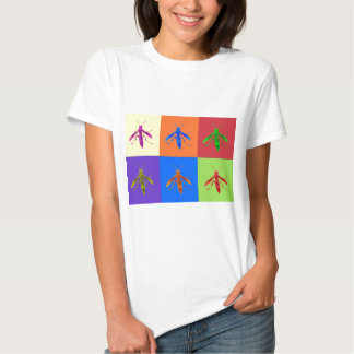 Rainbow Wasps T-shirts