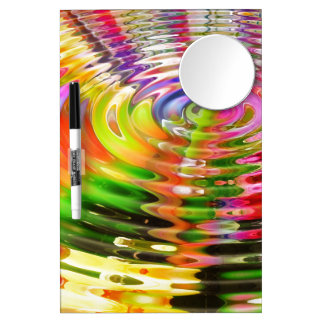 Rainbow Water Rings Dry Erase Boards