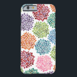 "Rainbow Watercolor Dahlia Flowers iPhone 6 case<br><div class=""desc"">One of a kind colorful,  multi-colored painted watercolor dahlia flowers design by Aussie designer/artist Pip  Hooray (Pip Gerard). Wont find this design available any where else for sale except here on !</div>"