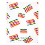 Rainbow watercolor Interior Designer Business Card