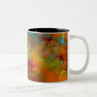 Rainbow Watercolor Mug
