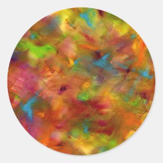 Rainbow Watercolor Sticker