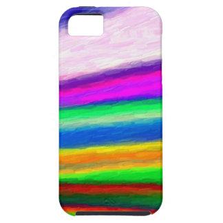 Rainbow Watercolors iPhone 5 Cases