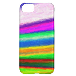 Rainbow Watercolors Case For iPhone 5C