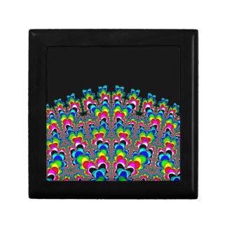 Rainbow Waterfall - Fractal Art Keepsake Box