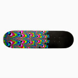 Rainbow Waterfall - Fractal Art Skateboard Deck
