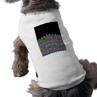Rainbow Waterfall - Fractal Art T-Shirt