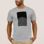 Rainbow Waterfall - Fractal Art T-Shirt