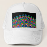 Rainbow Waterfall - Fractal Art Trucker Hat