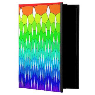 Rainbow waterfall iPad air covers