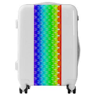 Rainbow waterfall luggage