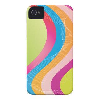 Rainbow Wave Case-Mate iPhone 4 Cases