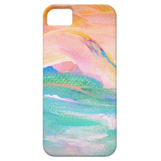 rainbow wave iPhone SE/5/5s case