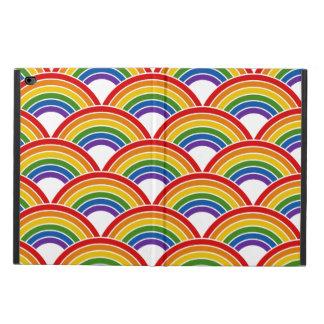 Rainbow Wave Pattern Art Powis iPad Air 2 Case