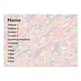 Rainbow Waves 4 Large Business Card