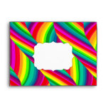 Rainbow Waves A7 Envelope