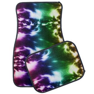 Rainbow Waves Car Mat